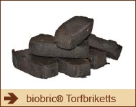 biobric Torfbriketts